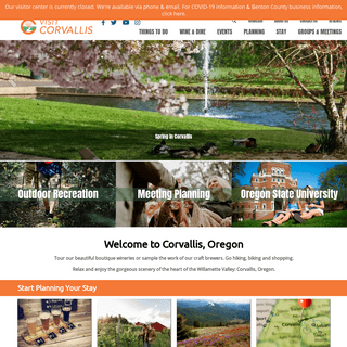 Top Things To Do & See In Corvallis Oregon - OSU, Hotels, Hiking, Wine