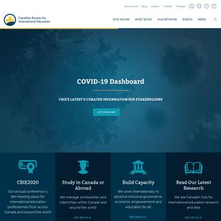 CBIE - Global Leader in International Education