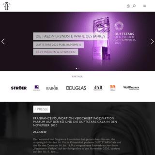 Fragrance Foundation Deutschland e.V.- Startseite