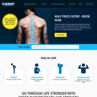 Kieser Australia - Physio Rehabilitation & Strength Training