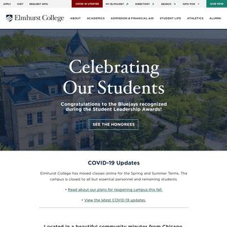 Home - Elmhurst College