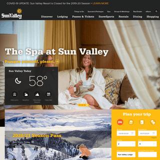 Sun Valley Resort, Idaho - Sun Valley