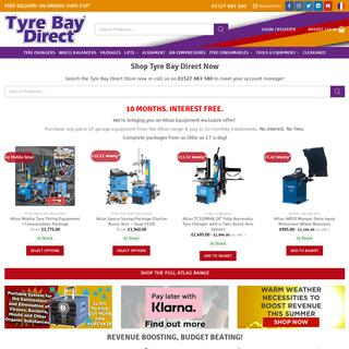Tyre Bay Direct Online - Garage Equipment & Tyre Bay Tools - Online Shop