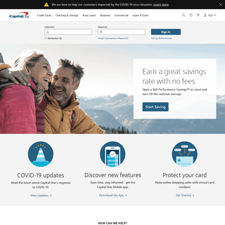 ArchiveBay.com - capitalone.com - Capital One Credit Cards, Bank, and Loans - Personal and Business