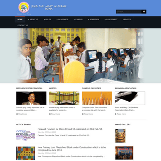 Jesus and Mary Academy - Welcome
