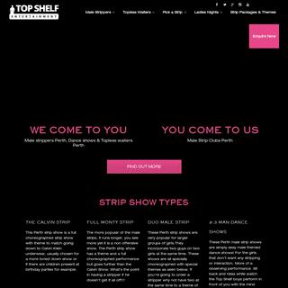 ArchiveBay.com - topshelfentertainment.com.au - Male Strippers Perth - Top Shelf Entertainment, Perth WA