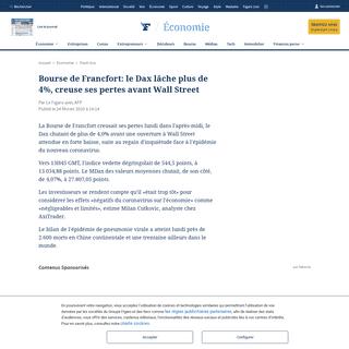 ArchiveBay.com - www.lefigaro.fr/flash-eco/bourse-de-francfort-le-dax-lache-plus-de-4-creuse-ses-pertes-avant-wall-street-20200224 - Bourse de Francfort- le Dax lâche plus de 4-, creuse ses pertes avant Wall Street