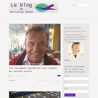 Le blog de Christian Roger