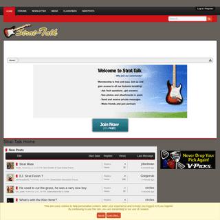 ArchiveBay.com - strat-talk.com - Strat-Talk Home - Fender Stratocaster Guitar Forum