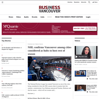 BIV- Vancouver & BC Business News, People, Lists & Events - Business In Vancouver