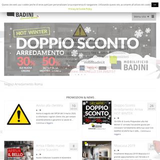 ArchiveBay.com - mobilibadini.it - Negozi Arredamento Roma- Super Sconti tutto l'anno! - Mobilificio Badini