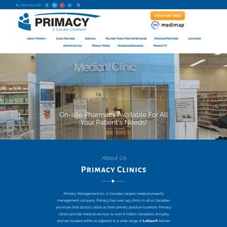 Primacy Medical Clinics -