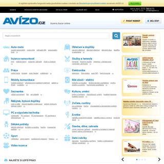AVÍZO.cz - Inzerce zdarma, bazar, online inzeráty