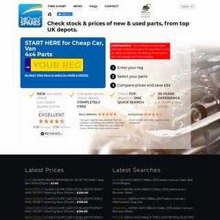 Used Car Parts - Car Spares - Car Parts - 1st Choice