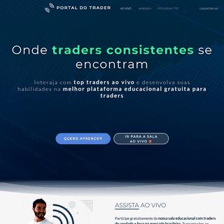 Day Trade Ao Vivo e Cursos Grátis para Traders - Portal do Trader