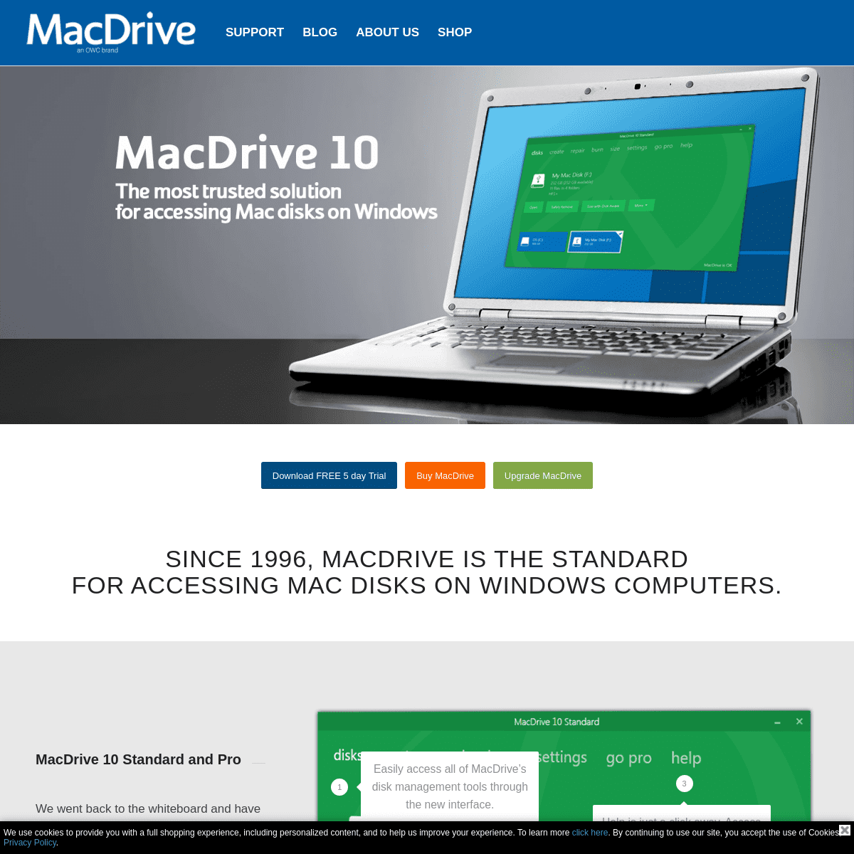 MacDrive – Read and Write Mac disks from Windows