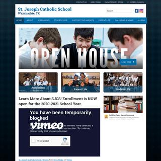 St. Joseph Catholic School - Waxahachie, TX