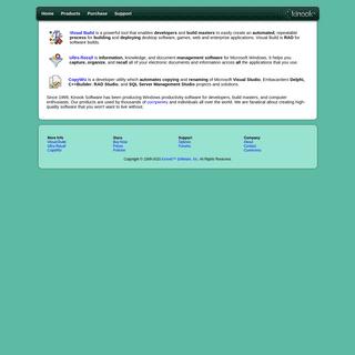 ArchiveBay.com - kinook.com - Kinook Software - Automated software builds