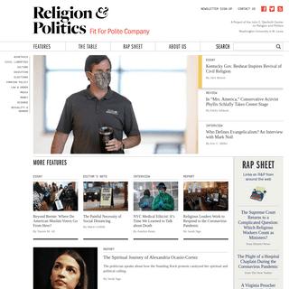 ArchiveBay.com - religionandpolitics.org - Religion & Politics