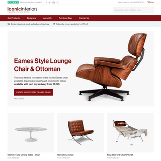 Iconic Interiors - Mid Century Modern and Bauhaus designer furniture…