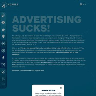 Advertising Sucks! - adrule