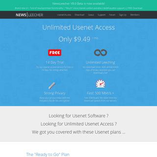 NewsLeecher - The Complete Usenet Package