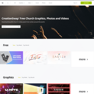 Free Church Images - Graphics - Backgrounds - Social - Church Videos
