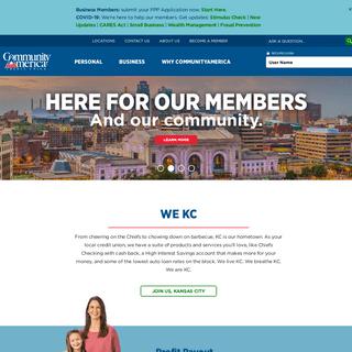 ArchiveBay.com - communityamerica.com - CommunityAmerica Credit Union- Banking, Loans & Mortgages