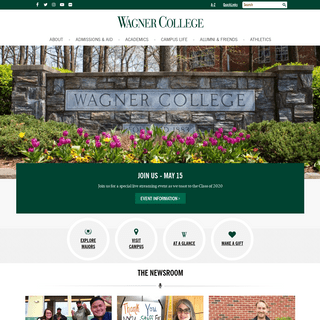 ArchiveBay.com - wagner.edu - Home - Wagner College - Practical Liberal Arts in NYC