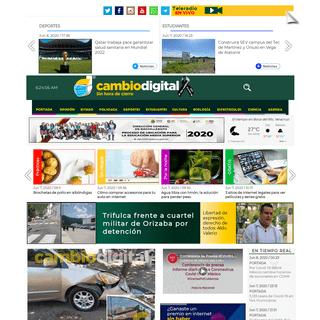 Cambio Digital - El portal de noticias sin hora de cierre