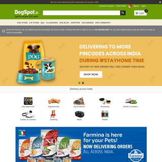 DogSpot.in-Online Pet Supplies Store - Shop for Dog,Cat,Birds Products