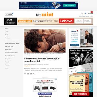 Film review- Another 'Love Aaj Kal', same Imtiaz Ali