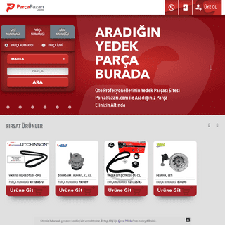 Oto Yedek Parça Burada - ParçaPazarı.com