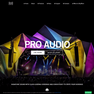 Professional Audio Sound Systems & Loudspeakers to Buy or Rent