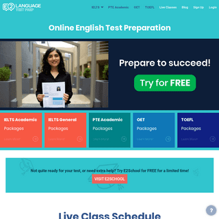 E2Language - PTE, OET, IELTS, TOEFL Online Courses. Try for FREE now!