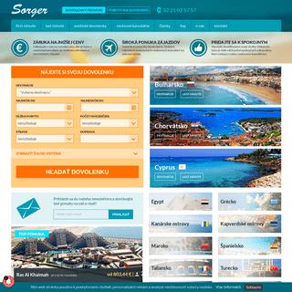 ArchiveBay.com - destinacie.sk - Last minute zájazdy a najlacnejšia dovolenka 2020 Sorger.sk