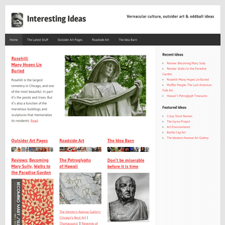 ArchiveBay.com - interestingideas.com - Outsider Art, Vernacular Art, Roadside Art, Oddball Culture