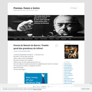 ArchiveBay.com - poemasfrasesetextos.wordpress.com - Poesias, frases e textos - Melhores poesias, frases, crônicas, textos e música