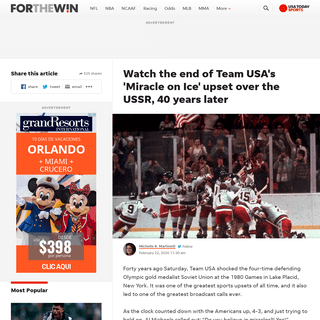 ArchiveBay.com - ftw.usatoday.com/2020/02/miracle-on-ice-usa-soviet-union-video-end - Miracle on Ice- See end of Team USA's upset over USSR, 40 years later
