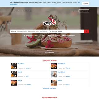Restaurantes, dentistas, bares, salones de belleza, médicos en Madrid - Yelp