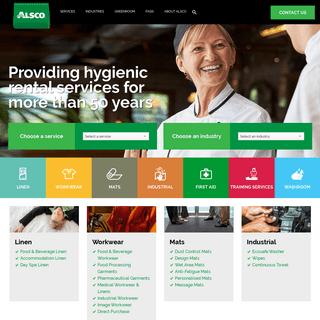Australia-wide Hygenic Rental Services for Workplaces - Alsco.com.au