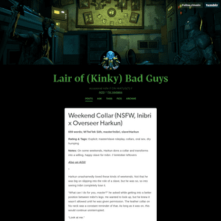Lair of (Kinky) Bad Guys