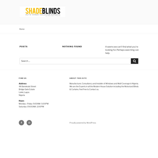Shade Blinds Nigeria – AUTO SHADE SOLUTION EXPERTS