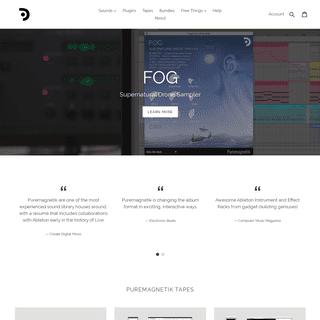 Puremagnetik - Free Ableton Live Packs, Kontakt Instruments & More