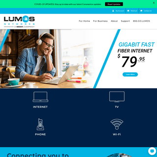 Lumos Networks - Fiber Broadband Internet, TV, and Phone Services