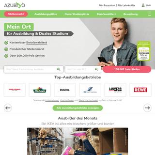 Ausbildung- Finde die passende Ausbildung in deiner Region - AZUBIYO