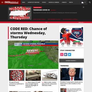Nashville News, Weather, Sports, Breaking News - WZTV
