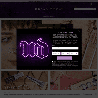 Urban Decay UK - Makeup For Eyes, Lips, Face & Body
