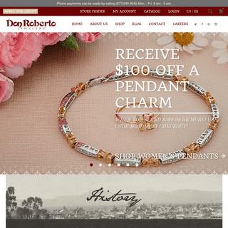 Fine Diamond & Jewelry Store Online - Don Roberto Jewelers