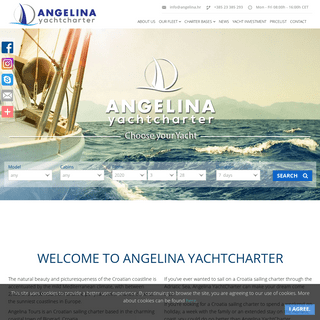Home - Angelina Yacht Charter